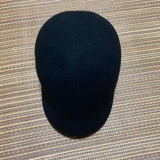 ミュウミュウ(miumiu)のベレー帽 minimarket キャップ wool ウール ブラック BLACK(キャップ)