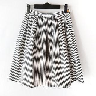ノーブル(Noble)のノーブル ミニスカート サイズ36 S 白×黒(ミニスカート)