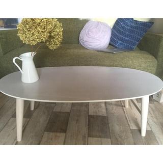 ビーカンパニー(B-COMPANY)のはる様専用白 テーブル ビーカンパニー(ローテーブル)