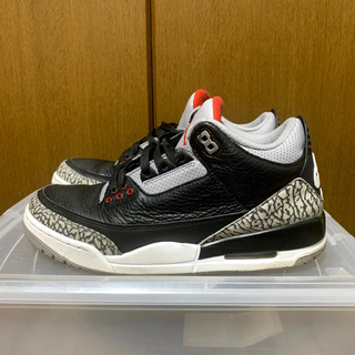 ナイキ(NIKE)の【最終値下】air jordan 3 retro og black cement(スニーカー)