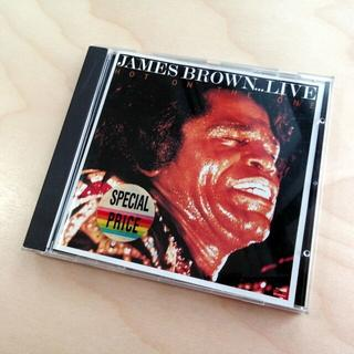 JAMES BROWN - LIVE HOT ON THE ONE 輸入盤(ポップス/ロック(洋楽))