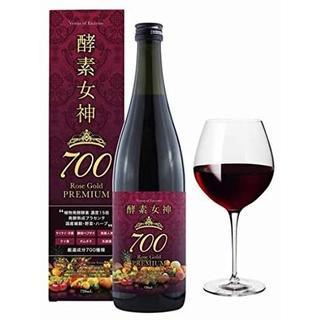 【新品】酵素女神700 ロゼゴールド・プレミアム 720ml(ダイエット食品)
