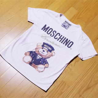 モスキーノ(MOSCHINO)の男女兼用♡Tシャツ(Tシャツ(半袖/袖なし))