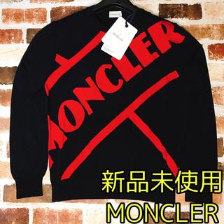 モンクレール(MONCLER)の【新品未使用】MONCLER モンクレール クルーネックシャツ長袖 メンズM(Tシャツ/カットソー(七分/長袖))