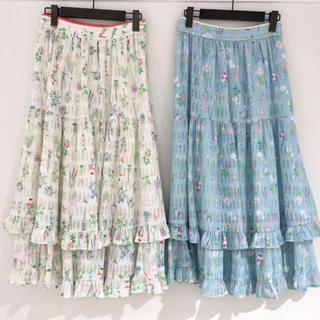 フランシュリッペ(franche lippee)の<新品タグ付き>franche lippee ガーデニングスカート(ロングスカート)