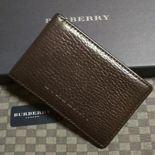 バーバリー(BURBERRY)のBURBERRY バーバリー パスケース カードケース 名刺入れ 小銭入れ(名刺入れ/定期入れ)