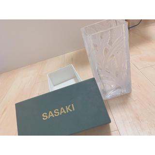 トウヨウササキガラス(東洋佐々木ガラス)の佐々木硝子 花瓶(花瓶)