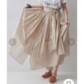 メゾンドリーファー(Maison de Reefur)のMAISON DE REEFER ♡ 【タグ付き美品】エアリーギャザースカート(ロングスカート)