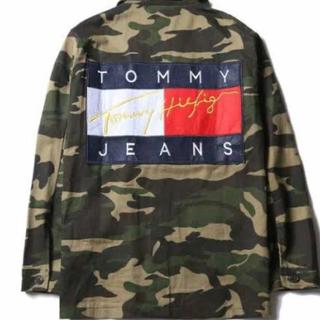 トミーヒルフィガー(TOMMY HILFIGER)の(値下げ交渉可能)トミージーンズ迷彩ジャケット(Gジャン/デニムジャケット)