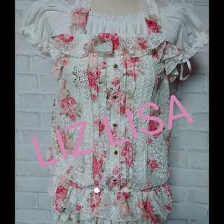 リズリサ(LIZ LISA)のLIZ LISAカットソー(カットソー(半袖/袖なし))