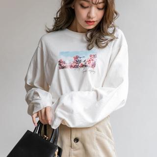 ヘザー(heather)のタック入りフォトT(Tシャツ(長袖/七分))