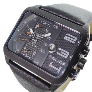 ポリス(POLICE)のポリス POLICE 腕時計 メンズPL15528JSB-61クォーツ ブラック(腕時計(アナログ))