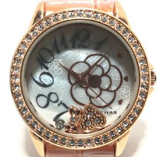 クレイサス(CLATHAS)のCLATHAS(クレイサス) 腕時計 レディース 白(腕時計)