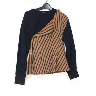 ルシェルブルー(LE CIEL BLEU)のルシェルブルー 長袖カットソー サイズ36 S(カットソー(長袖/七分))