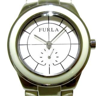 フルラ(Furla)のFURLA(フルラ) 腕時計 レディース 白(腕時計)