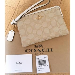 コーチ(COACH)の未使用 確実正規品 コーチ リスレット ポーチ  カードケース 財布 小銭入れ(財布)