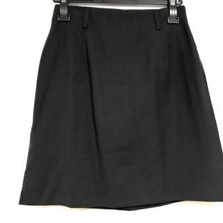 ラルフローレン(Ralph Lauren)のラルフローレン ミニスカート サイズ9 M 黒(ミニスカート)