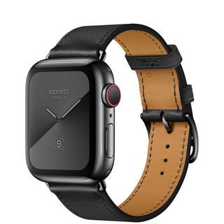 エルメス(Hermes)の値下げ!アップルウォッチ エルメスseries5 Apple Watch 黒(腕時計(デジタル))