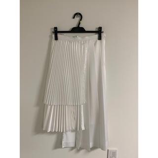コムデギャルソン(COMME des GARCONS)のNoir Kei Ninomiya Pleats Skirt(ロングスカート)