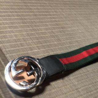グッチ(Gucci)の早い者勝ち!毎日値下げ!美品 GUCCI 本物 ベルト 94.5cm(ベルト)