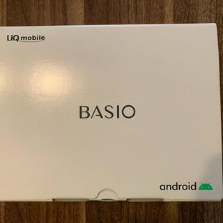 キョウセラ(京セラ)の京セラ SIMフリーケータイ BASIO4  保護フィルム付き(スマートフォン本体)
