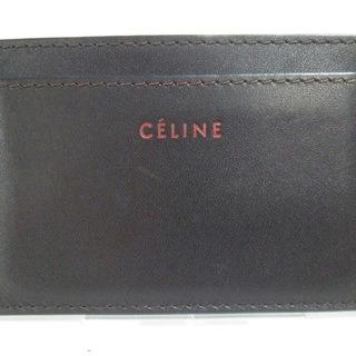 セリーヌ(celine)のセリーヌ カードケース - ダークブラウン(名刺入れ/定期入れ)