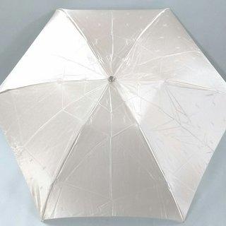 サンローラン(Saint Laurent)のイヴサンローラン 折りたたみ傘 ベージュ(傘)