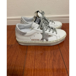 GOLDEN GOOSE - 美品★GOLDEN GOOSE SNEAKERS HI STAR 36