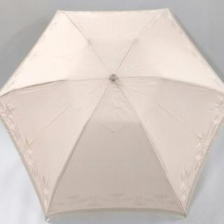 ジバンシィ(GIVENCHY)のジバンシー 日傘 ベージュ 折りたたみ(傘)