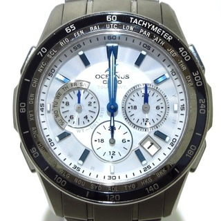 CASIO - カシオ 腕時計 オシアナス 0CW-S1200 白