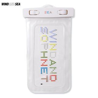SEA - 防水携帯電話ケース【新品】SOPHNET. WIND AND SEA 携帯ケース