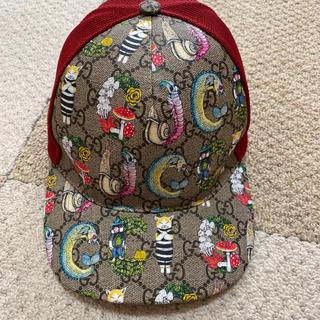 グッチ(Gucci)のグッチチルドレン × ヒグチユウコ キャップ サイズL(帽子)