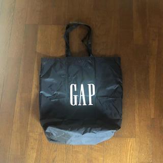 ギャップ(GAP)の【完売品】GAP エコバック ブラック(エコバッグ)