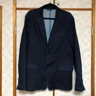 ディーゼル(DIESEL)の美品 DIESEL 定価7万円超 ジョグジーンズ ジャケット XL 日本XL相当(テーラードジャケット)
