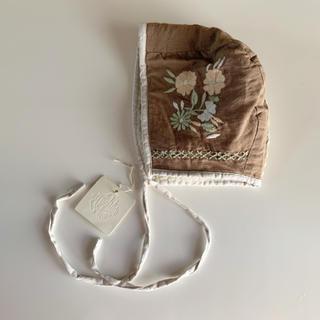 ボンポワン(Bonpoint)のapolina joni bonnet (fawn) 12-18m アポリナ(帽子)