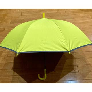 新品未使用 タグ付き 小学生用 黄色 晴雨兼用傘 遮光日傘 55cm (傘)