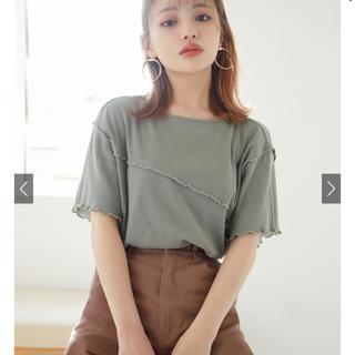 グレイル(GRL)のリブメロウトップス(Tシャツ(半袖/袖なし))