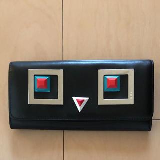 フェンディ(FENDI)の【美品】FENDI 長財布 モンスター(長財布)