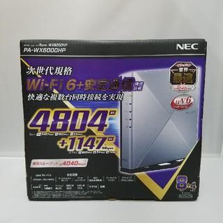 エヌイーシー(NEC)のNEC PA-WX6000HP Aterm Wi-Fiホームルーター(PC周辺機器)