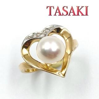 TASAKI - 田崎真珠 パールリング 指輪 K18