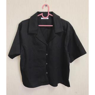 スピンズ(SPINNS)のSPINNS オープンカラーシャツ(シャツ/ブラウス(半袖/袖なし))