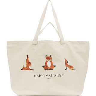 メゾンキツネ(MAISON KITSUNE')のメゾンキツネ トートバッグ キャンバストート 鞄 新品(トートバッグ)