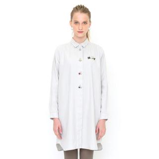 グラニフ(Design Tshirts Store graniph)の新品 グラニフ シャツワンピース からすのパンやさん かこさとし(その他)