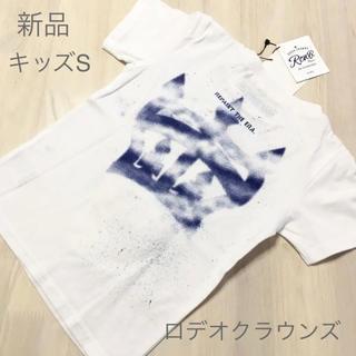 ロデオクラウンズワイドボウル(RODEO CROWNS WIDE BOWL)のキッズS✨新品✨RODEO CROWNS ロデオクラウンズ❤️クラウンペイント(Tシャツ/カットソー)