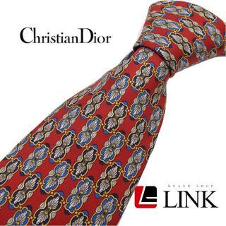 Christian Dior - 【美品】クリスチャンディオール DIOR シルク ネクタイ