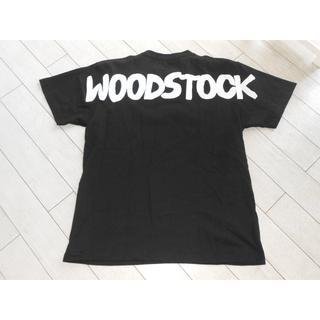 アメリカンラグシー(AMERICAN RAG CIE)のAMERICAN RAG CIE /  WOODSTOCK50周年記念Tシャツ黒(Tシャツ/カットソー(半袖/袖なし))