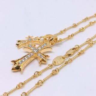 ダミアーニ(Damiani)の最高品質✨クロス豪華3点セット✨22k GOLD plating ネックレス(ネックレス)