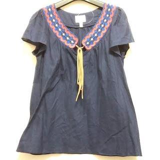 ミリー(Milly)のMILLY(ミリー) 半袖カットソー サイズ2 S(カットソー(半袖/袖なし))