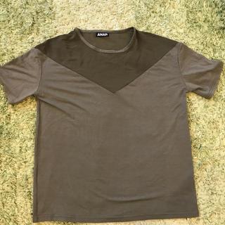 アナップ(ANAP)のアナップ シアーカーキトップス F(Tシャツ(半袖/袖なし))