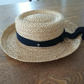 HELEN KAMINSKI     ラフィアハット カンカン帽   麦わら帽子
